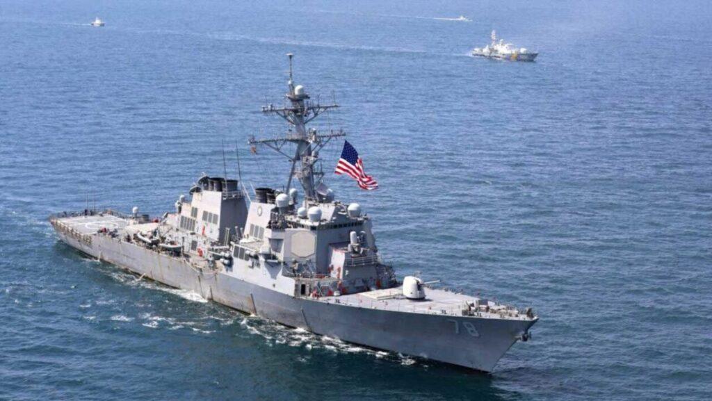 Учения Sea Breeze 2021: США приближаются к конфликту с Россией в Черном море