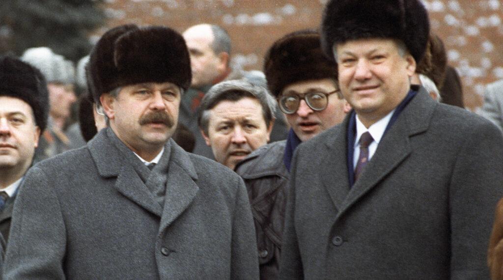Руцкой рассказал о роли иностранцев из окружения Ельцина в развале СССР