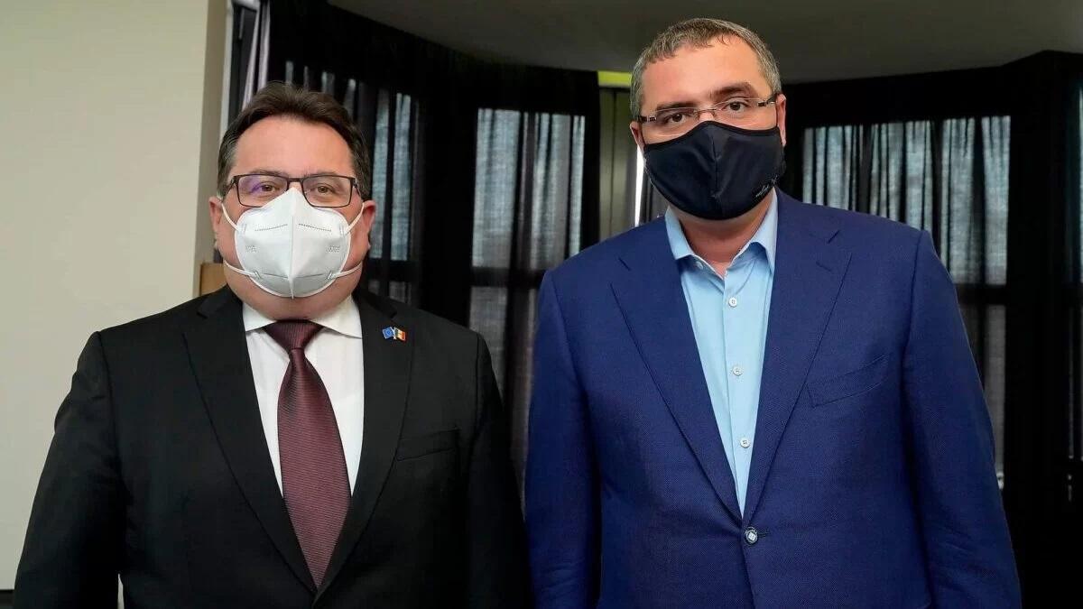 Ренато Усатый обсуждает с послами стран Запада ситуацию в Молдове