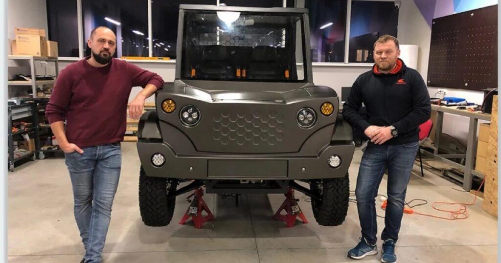 В Молдове создали первый электрический внедорожник Hi-Duk